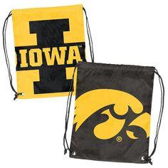 Iowa Hawkeyes NCAA Doubleheader Reversible Backsack
