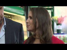 Triple H And Stephanie McMahon In Snapple Commercial (Video), Chris Jericho Talks New Series - WrestlingInc.com. http://www.wrestlinginc.com/wi/news/2015/0417/592528/triple-h-and-stephanie-mcmahon-in-snapple-commercial-video/