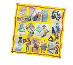 Hermes scarf 70: J'aime mon Carré