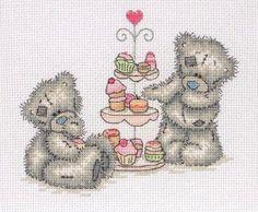 Tatty Teddy (Me to You) схемы вышивки скачать бесплатно | Схемы с мишками Tatty Teddy и его друзьями | ВКонтакте