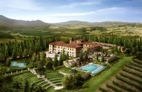 Castello di Casole Hotel - A new boutique luxury hotel in old world Tuscany style.