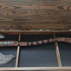 Viking hammer with Vegvisir Symbol carpentry woodwork | Etsy Blacksmith Hammer, Hammer Tool, Survival Axe, Special Symbols, Vegvisir, Norse Mythology, Acacia Wood, Larp, Bushcraft