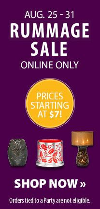 Halloween! Holiday! Everyday! Don't miss your chance to grab decor and scents for a steal at PartyLite.com.