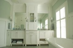 Similar but so much better than what we currently have.   Bet we can modify existing vanity to achieve similar look.
