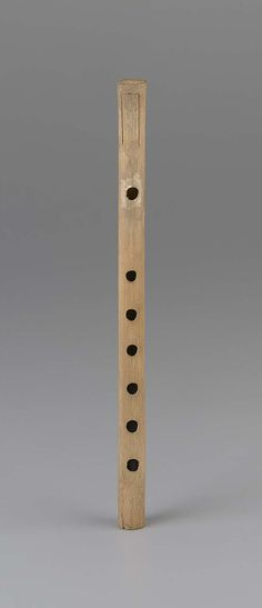 Clarinet (guanzi)   Museum of Fine Arts, Boston
