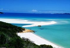 Breath-takingly beautiful, Whitehaven Beach regularly features on lists of the best beache...