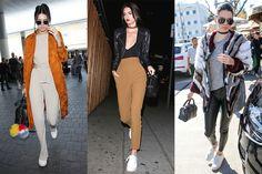 超模 Kendall Jenner 大愛的白波鞋不是 Stan Smith,而是 Kenneth Cole 這雙Kam sneakers