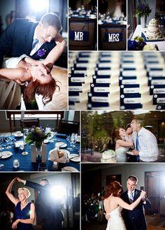 blue and purple wedding inspiration - colorado mountain wedding