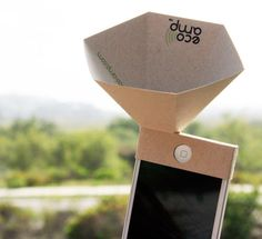 Paper Eco amp by eco made altavoz