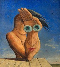 Composition with Portrait - 1930 -  Victor Brauner