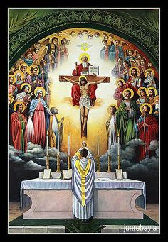 Meditations on the Traditional Latin Mass by St Francis de Sales When the priest goes to the foot of the Altar Jesus enters the garden O Lord Jesus Christ, Son of the Living God, Who wast pleased. Catholic Mass, Catholic Religion, Roman Catholic, Catholic Pictures, Pictures Of Jesus Christ, Religious Images, Religious Art, Catholic Sacraments, Christian Art