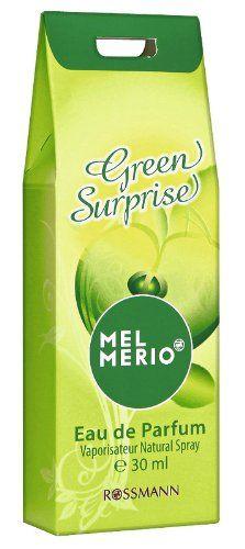 Mel Merio Green Surprise Eau de Parfum Vaporisateur 30ml 2,-  (1x) Süsser und fruchtiger Damen Duft toll für den Sommer.