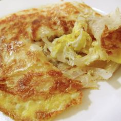 Roti Prata with eggs and onions