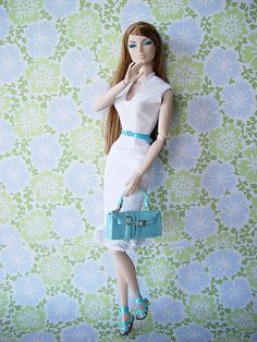 fashion doll, white dress, Spring Forward Eugenia   Flickr