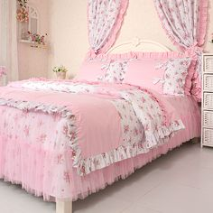 Cheap bed room, Buy Quality comforter sets for king size beds directly from China comforter shoes Suppliers: Luxury Cotton Bedding Set King Size Duvet Cover Sets Kids Girls Pink Child Princess Bedding-set Bedclothes Bedspreads Br