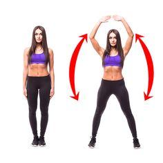 5 hetes edzésterv, ami átalakítja tested mintegy varázsütésre - Alonsa Pin World Burpees, Faire Des Squats, Forme Fitness, Lower Back Muscles, Belle Silhouette, Shoulder Muscles, Workout Pictures, Waist Workout, Leg Lifts