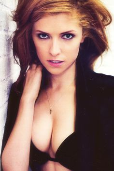 Emily said Anna Kendrick was cute and not hot, so I thought this would correct that... :P