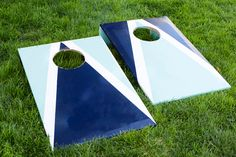 DIY this cornhole game for your next summer BBQ.
