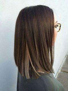 Long bob hair