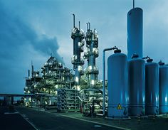 LNG Technology industrial plant