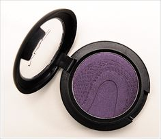 """MAC Altered State Eyeshadow Review, Photos, Swatches""""deep frosted blue purple"""""""