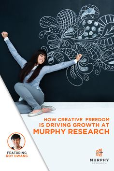 How Creative Freedom is Driving Growth at Murphy Research http://murphyresearch.com/creative-freedom-Murphy-Research-growth?utm_content=buffered3d7&utm_medium=social&utm_source=pinterest.com&utm_campaign=buffer #marketingresearch #careers