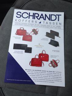 Leaflets Schrandt koffers en tassen winkel