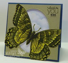 Stampin' Up! Swallowtail by Debbie Henderson, Debbie's Designs.