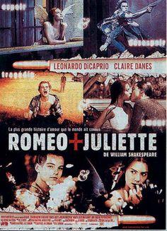 Romeo + Juliette est un film de Baz Luhrmann avec Leonardo DiCaprio, Claire Danes.
