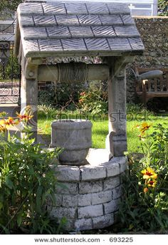 Stone Wishing Well