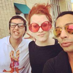 Adore Delano, Jinkx Monsoon and Bianca del Rio.