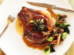 Perfect Pan Seared Pork Chops