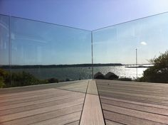 structural glass railing - Google Search