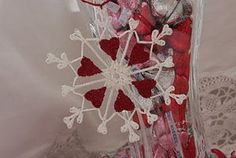 Turn your house into a winter wonderland with this 30 Minute Snowflake crochet pattern. This is a quick and easy holiday crochet pattern than you can use as an ornament, gift wrap accessory, or wall art.