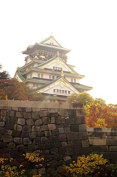 Osaka Castle. Such a beautiful and imposing structure. Click pin through to post for more amazing ideas for things to do in Osaka.