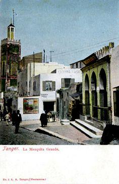 Colección Hispano-Marroquí, del librero Antonio Arévalo, con anuncio de la fotografía Zarzuela de Tánger. © Colección José Luis Gómez Barceló.