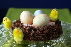 Macaroon Easter Nest Recipe