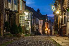 Mermaid Street..... Rye, East Sussex, England, UK.
