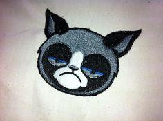 Grumpy Cat Embroidery
