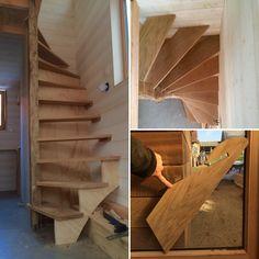 Escalier de la Tiny Stream de Marie-Jeanne