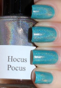 OPI Fly and Girly Bits Hocus Pocus. DIY holographic nail poilsh!