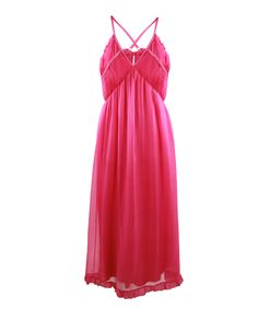 # Long Soft dress with cross back