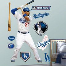 Walmart: MLB  Matt Kemp Los Angeles Dodgers Fathead http://www.exclusivepackagingny.com/index.html