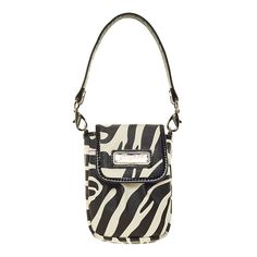 Flap Phone Holder-Zebra Grace Adele Clip-on    Carry just the essentials: cell phone, cash and credit cards, and a lip gloss or two. Wrap it around your wrist or clip it to your favorite Grace Adele bag in case you need a quick-and-stylish getaway.     • Lobster clasp  • Magnet closure  • Multi-use pocket  • Wrist strap    https://myfashions.graceadele.us/GraceAdele/Buy/ProductDetails/10468