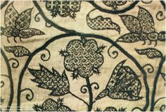 Image result for medieval blackwork embroidery techniques