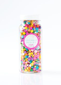 Carousel Sprinkle Medley Colorful Sprinkle Mix by Sweetapolita