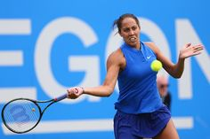 @WTA  @Madison_Keys advances to #AegonClassic Final!  Edges Suarez Navarro 3-6, 6-3, 7-6(3)!