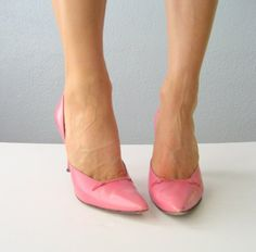 cotton candy pink stilettos by Thrush on Etsy   Oh so cute and oh, so sold...