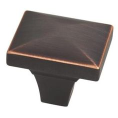 Liberty Barcelona 1-3/4 in. Venetian Bronze with Copper Highlights Beverly Cabinet Knob P19446C-VBC-CP at The Home Depot - Mobile