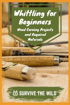 Beginner's Whittling Guide: The Knives, Skills, & Wood Needed Whittling Projects, Whittling Wood, Wood Projects, Woodworking Projects, Bushcraft Skills, Bushcraft Camping, Bushcraft Gear, Camping Survival, Survival Project